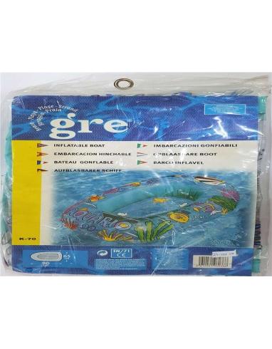 BARCA HINCHABLE GRE 90X65CM K70