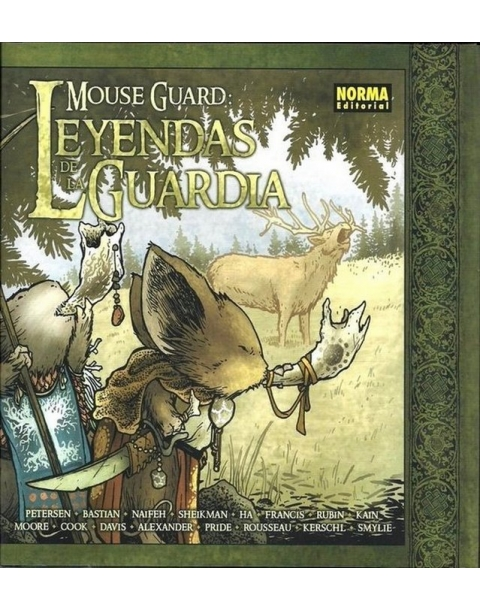 MOUSE GUARD LEYENDAS DE LA GUARDIA-NORMA