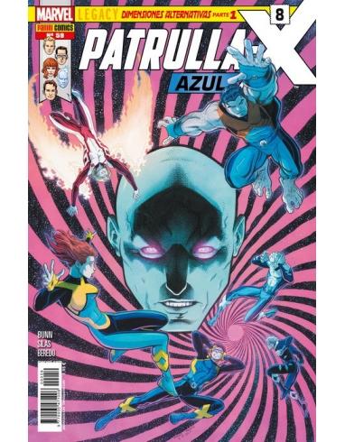 PATRULLA X AZUL -PANINI-
