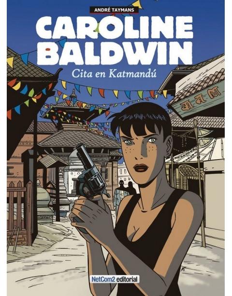 CAROLINE BALDWIN 9. CITA EN KATMANDÚ