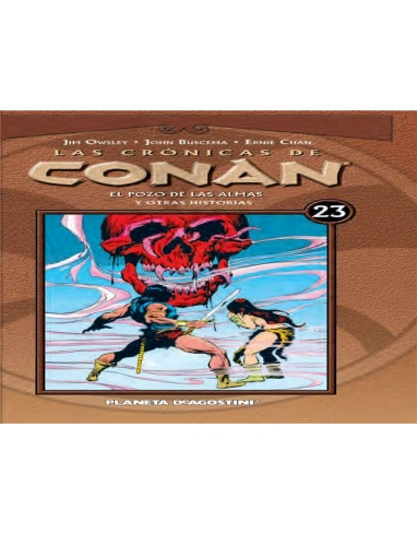 LAS CRONICAS DE CONAN Nº 23 -PLANETA-