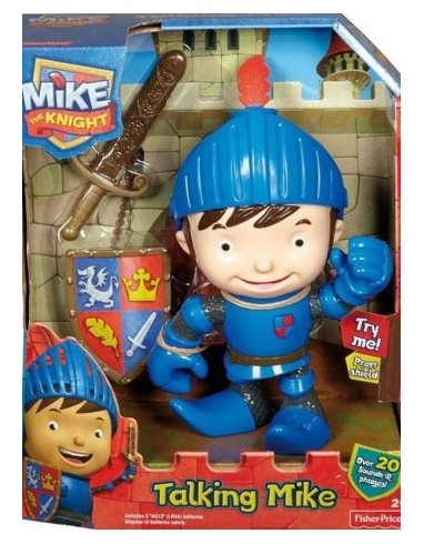 MIKE, CABALLERO PARLANCHIN
