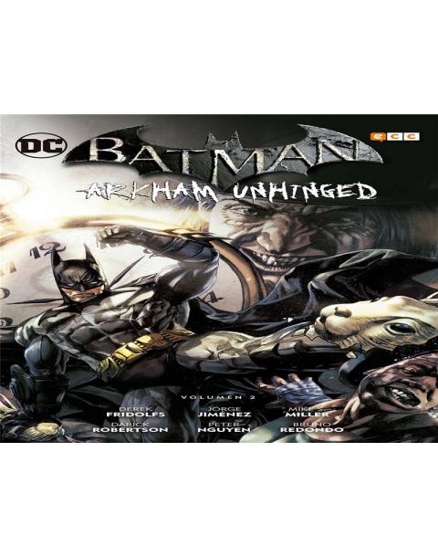 BATMAN ARKHAM UNHINGED 2 DC -ECC-