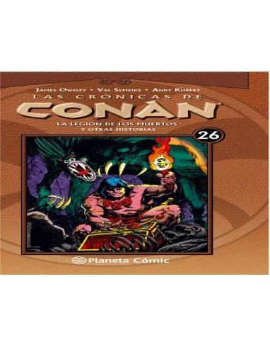 CRONICAS CONAN 26 LEGION MUERTOS -PLANET