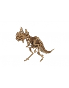 MAQUETA DILOPHOSAURUS MADERA 25009