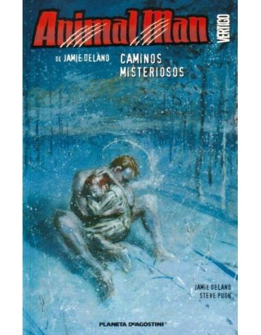 ANIMAL MAN Nº5 CAMINOS MISTERIOSOS-PLANE