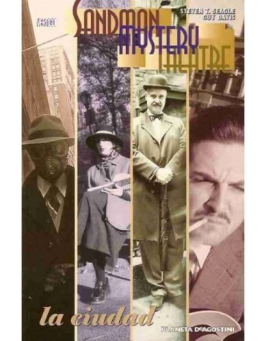 SANDMAN MYSTERY THEATRE Nº 13 LA CIUDAD