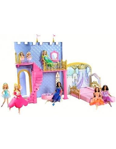 Barbie Castillo Magico 12 Princesas Bail