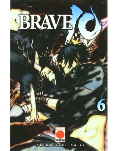 BRAVE 10 Nº 6 -PANINI- MANGA