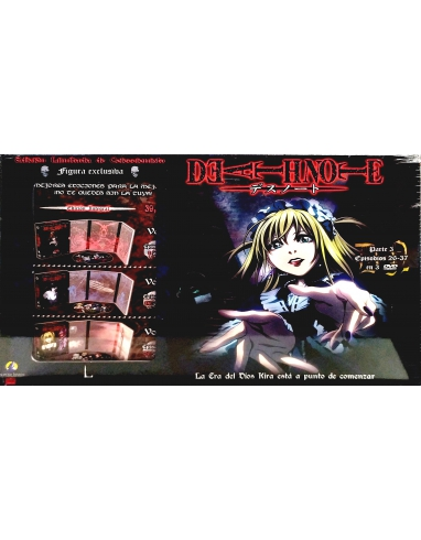 DVD DEATH NOTE + FIGURA N 3 -SELECTA-