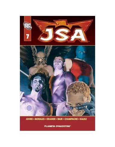 JSA Nº 7 BIBLIOTECA DC -PLANETA-