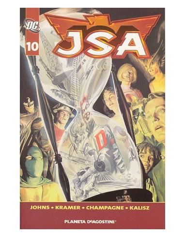JSA Nº 10 BIBLIOTECA DC -PLANETA-