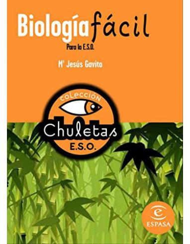 BIOLOGIA FACIL PARA LA ESO COLECCION CHULETAS PARA LA E.S.O. ESPASA.