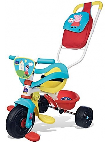 TRICICLO PEPPA PIG BE MOVE 444203 SMOBY