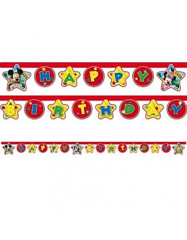 CARTEL HAPPY BIRTHDAY MICKEY 2.10M