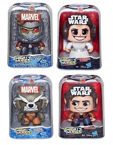 FIGURA MIGHTY MUGGS SURTIDAS MARVEL