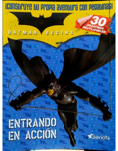 BATMAN BEGINS PEGATINAS ALBUM -GAVIOTA-