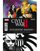 CIVIL WAR II ELIGIENDO BANDO -PANINI-