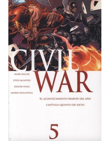 CIVIL WAR COMIC -PANINI-