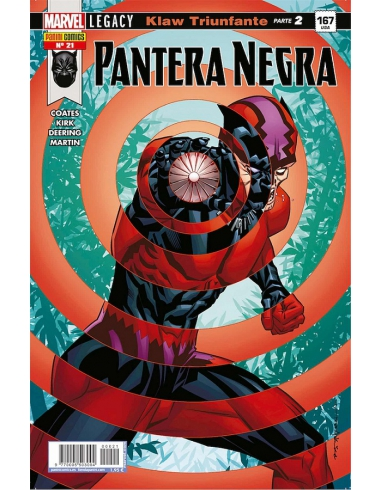 PANTERA NEGRA Nº 21 -PANINI-