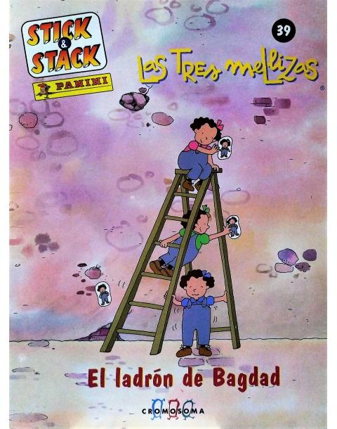 STICK STACK LAS TRESMELLIZAS Nº 39 EL LADRON DE BAGDAD. PANINI.