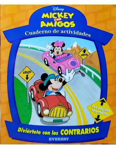 CUADERNO DE ACTIVIDAD DE MICKEY Y SUS AMIGOS