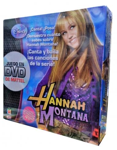 Juego dvd Hannah Montana DE MATTEL