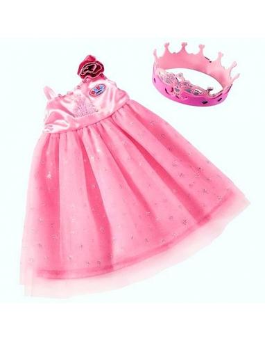 BABY BORN VESTIDO DE PRINCESA CON CORONA. 803509