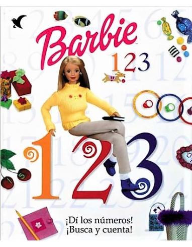 LIBRO DE BARBIE 1,2,3 CONTAR DI LOS NUMEROS ALBUM -GAVIOTA-