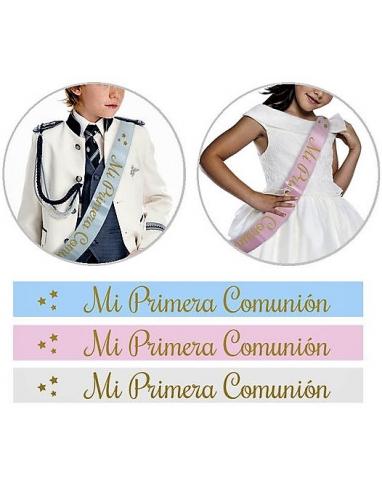 BANDA DE PRIMERA COMUNION SURTIDAS 327923