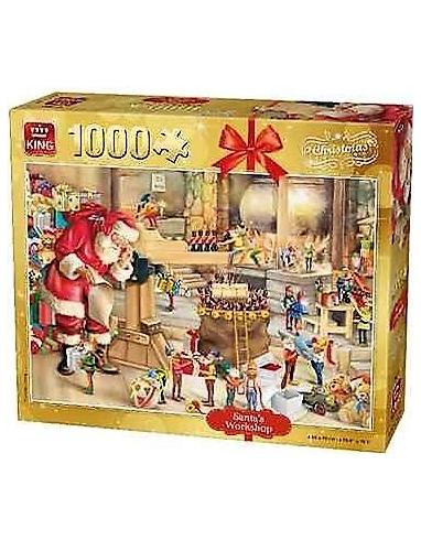PUZZLE DE 1000 PIEZAS DE PAPA NOEL. 05350 KING